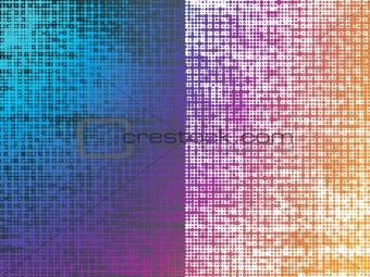 Abstract Multicolor Dots