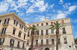 Palaces. Bari. Apulia.
