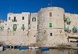 Aragonese Tower. Giovinazzo. Apulia.