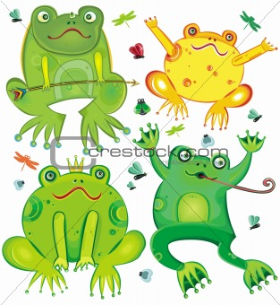 cute frogs