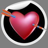 Arrow in Heart