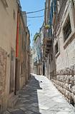 Alleyway in Altamura Oldtown. Apulia.