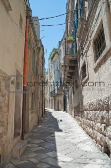 Alleyway in Altamura Oldtown. Apulia.