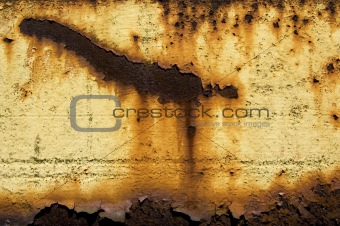 Aqueous Sun - Abstract Rusty Metal Texture