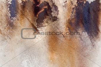 Aqueous Sun - Abstract Rusty Metal Texture