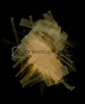 Abstract Shapes and elements on black backgrounds