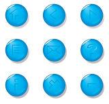 Aqua buttons (Vector)