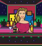 Barwoman (Vector)