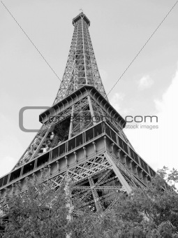 TOUR D'EIFFEL,PARIS 2 BLACK AND WHITE