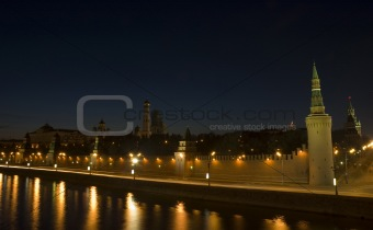 Moscow's night