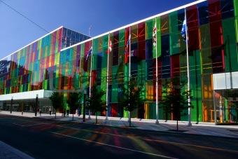 Palais des congres (Montreal,Canada)