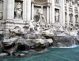 Trevi Fountain, Fontana de Trevi Rome