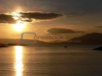 A Scottish Sunset
