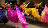 Carnival in Xaghra in Gozo, Malta