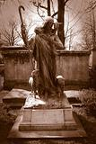 Tombstone at Pere Lachaise