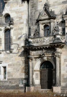 Church Entrance In Leipzig, Germany