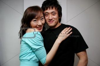 Asian couple portrait