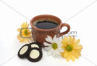 A beautiful coffee scene