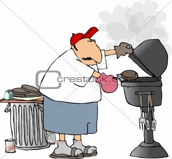 BBQ man