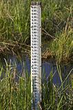 Water level measurement gauge