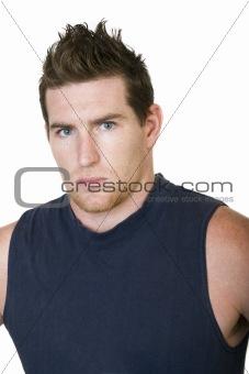 Caucasian male portrait
