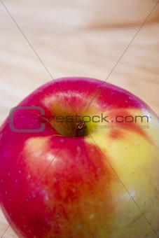 Close up on a Red Apple