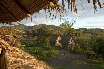 camp of Parc manuel antonio