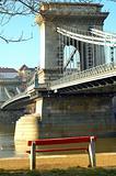 Panchina al Ponte delle Catene