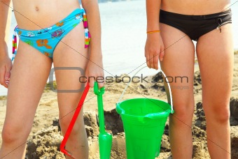 Sandcastle builders