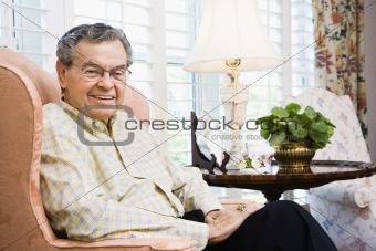 Portrait of mature man.