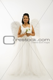 Angelic bride.