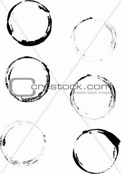 6 Grunge Cup Rings 2