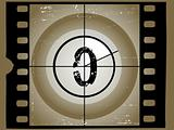 Old Sctratched Film Countdown - At 0