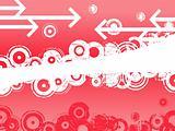 Pink Circles and Arrows