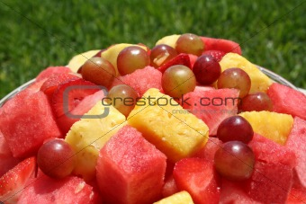 Close up of a fruit bowl