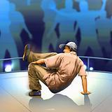 hip-hop dance floor