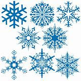 Snowflakes B