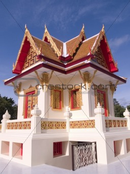 Small Buddhist temple