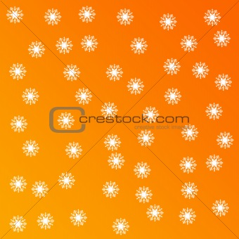 Background Snowflakes