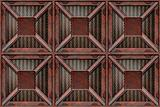 rusting crate