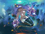 horoscope zodiac sign of pisces manga style