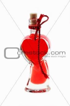 Bath oil bottle