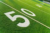 American football field