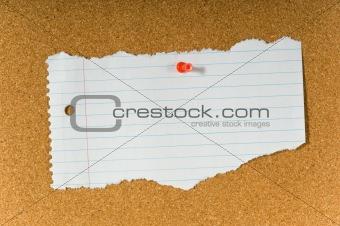 Blank note