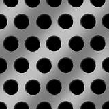 Aluminum Holes Background