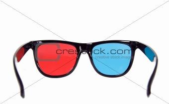 Three dimensional eyeglasses