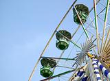 Big ferris wheel in attraction park