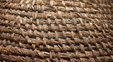 Vintage woven basket. Ideally as background