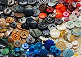 Vintage clothes buttons