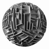 spherical maze